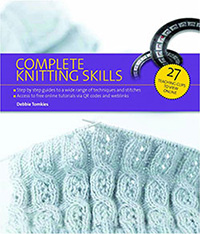 Cover photo of Complete Knitting Skills by Debbie Tomkies