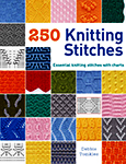 Cover photo of 250 Knitting Stitches by Debbie Tomkies