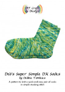 thumbnail of debs super simple socks