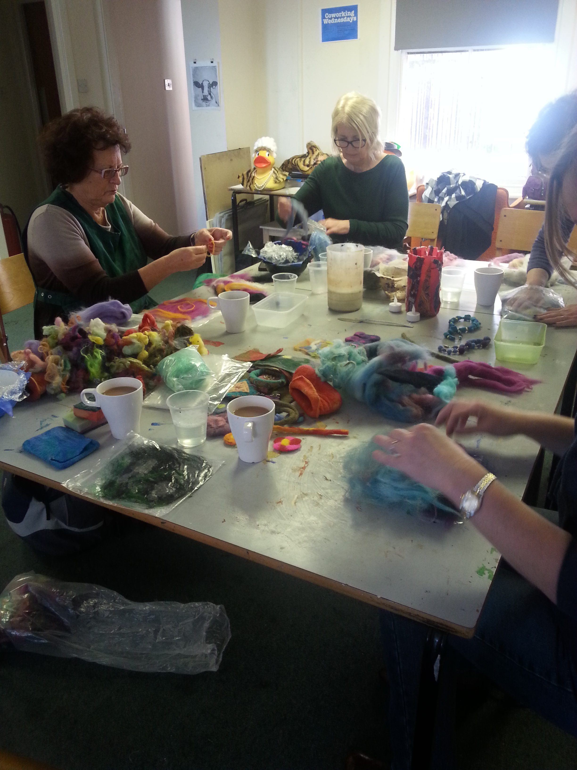 open studios altrincham friday textiles group