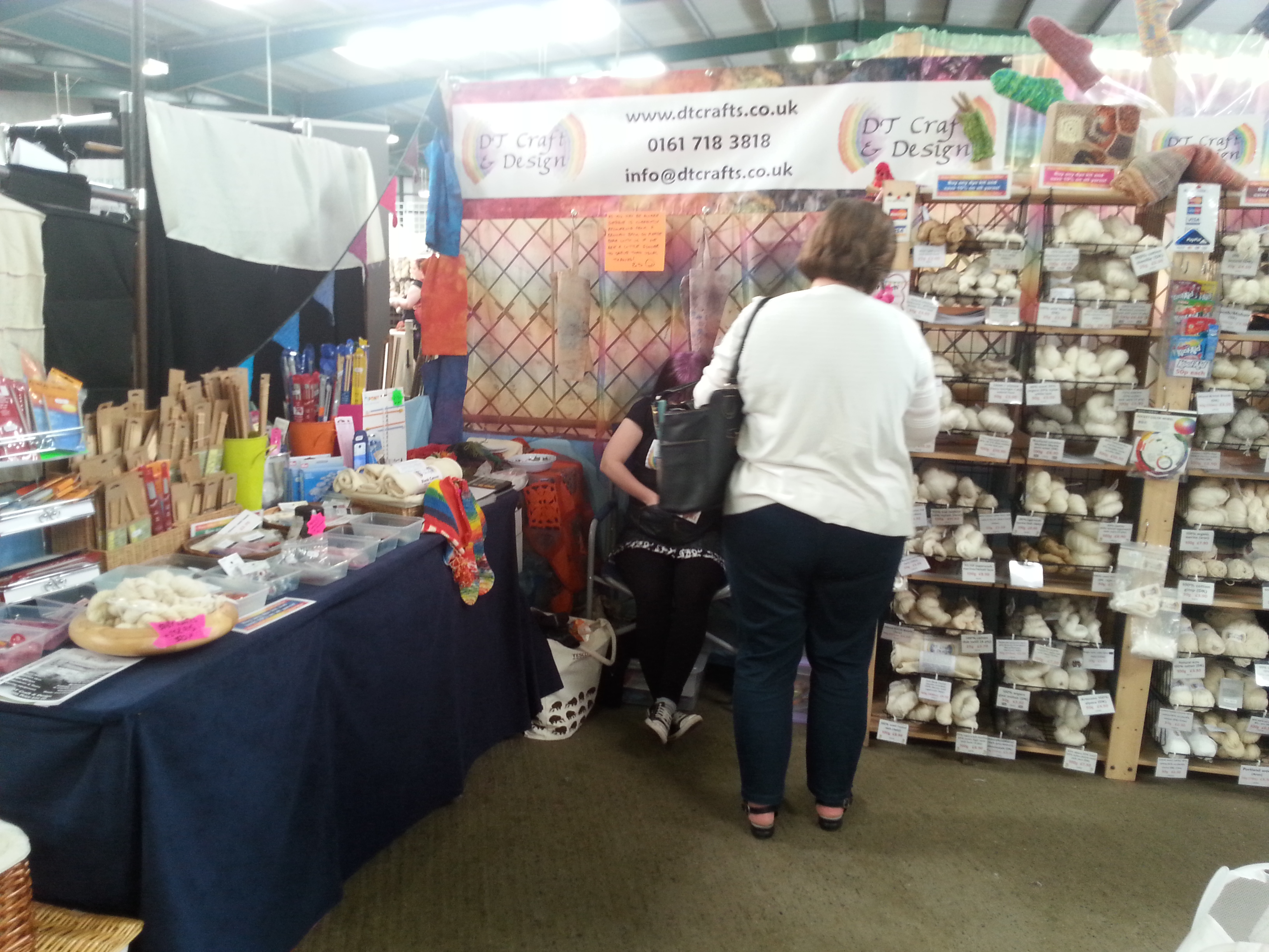 DT Craft and Design's will be at Woolfest 2018. We'll be on stall c63-64, and Woolfest takes place on 22nd-23rd June 2018