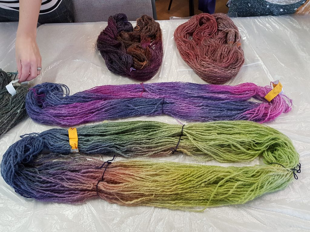 Oxford Guild of Weavers, Spinners and Dyers - Introduction to acid dyeing and Dyes Past and Present talk