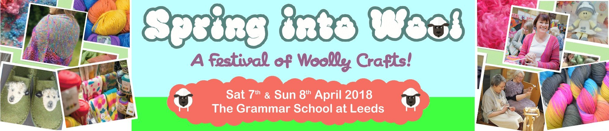 DT Craft and Design are taking a stall at spring into wool at the grammar school at leeds on 7th and 8th april 2018