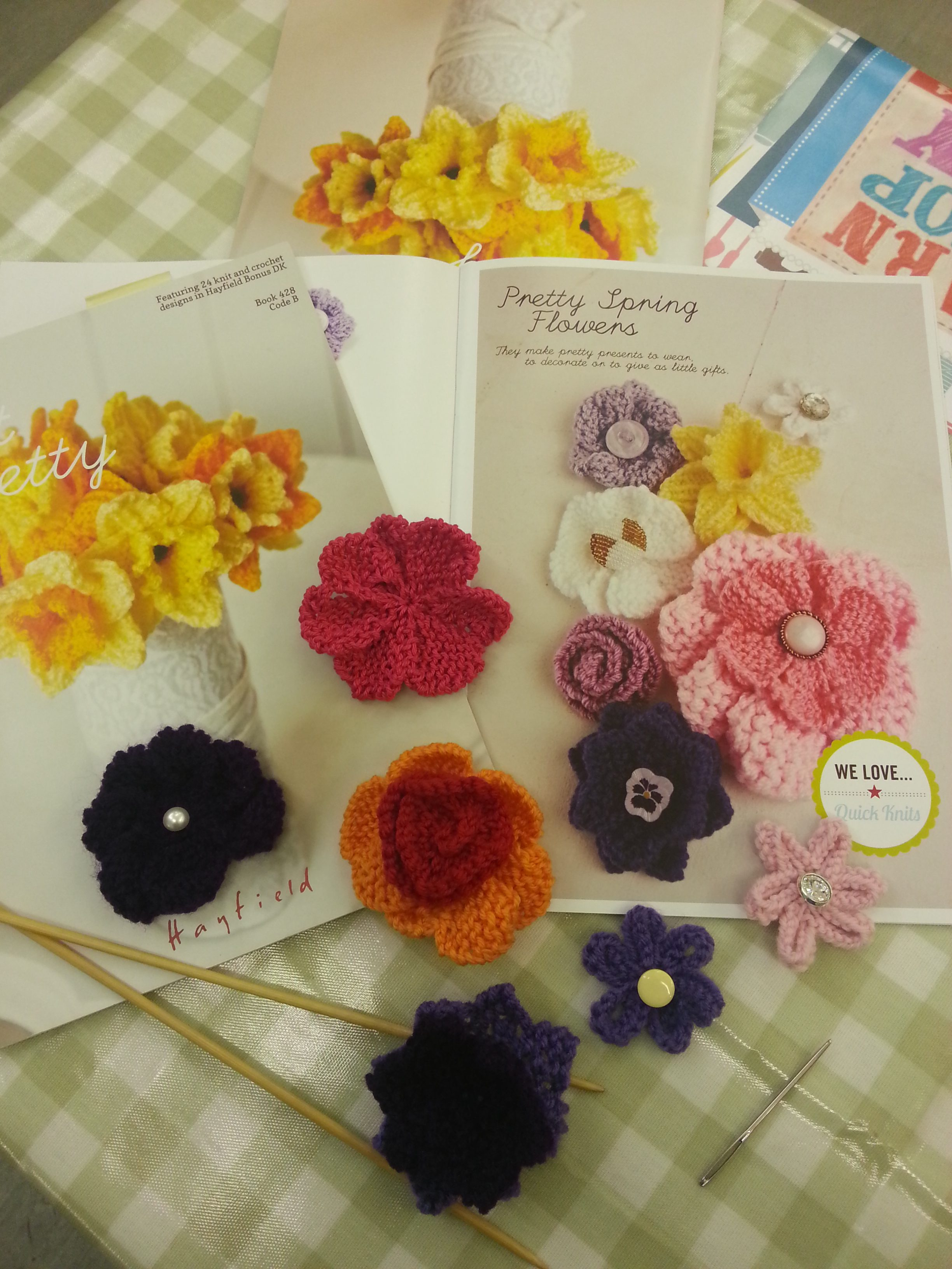 Intermediate knitting class with Debbie Tomkies of DT Craft & Design