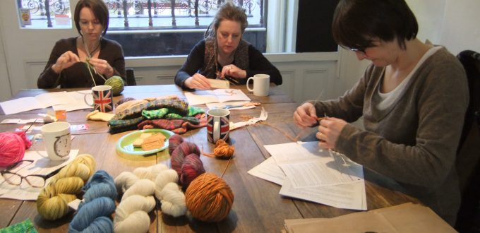 Sock knitting workshop with Debbie Tomkies of DT Craft and Design