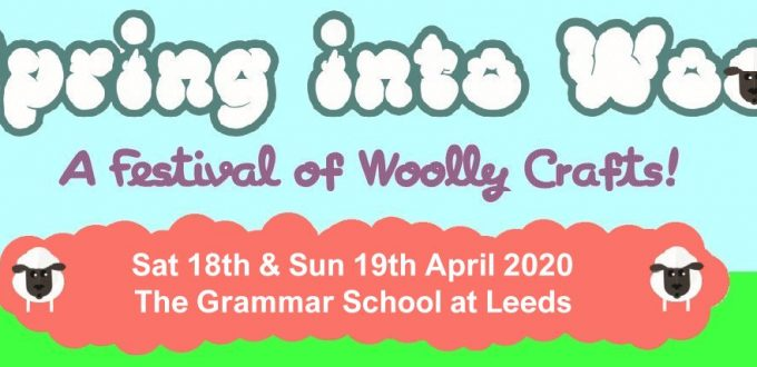 DT Craft & Design will be attending Spring Into Wool Leeds 18-19th April 2020