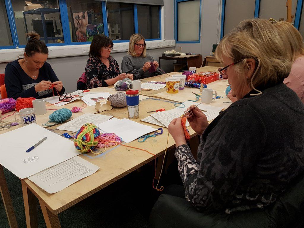 crochet for beginners workshop with Debbie Tomkies 02
