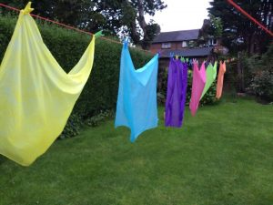 Dyeing silk fabric – Achieving deeper shades